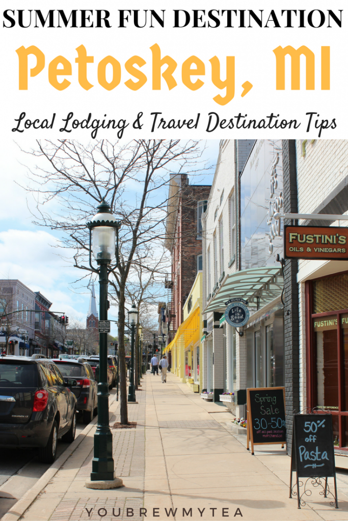 Visit gorgeous lakes in Petoskey, Michigan for an ideal Midwest Family Travel experience this summer! Don't miss our tips!