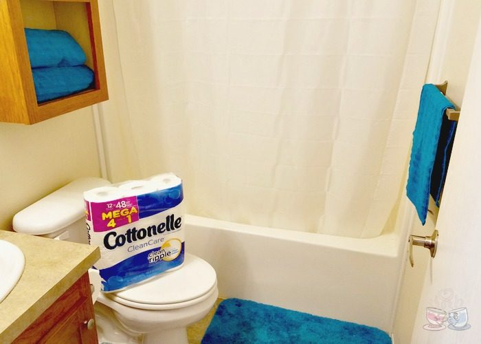 Simple Boys Bathroom Updates For A Rental