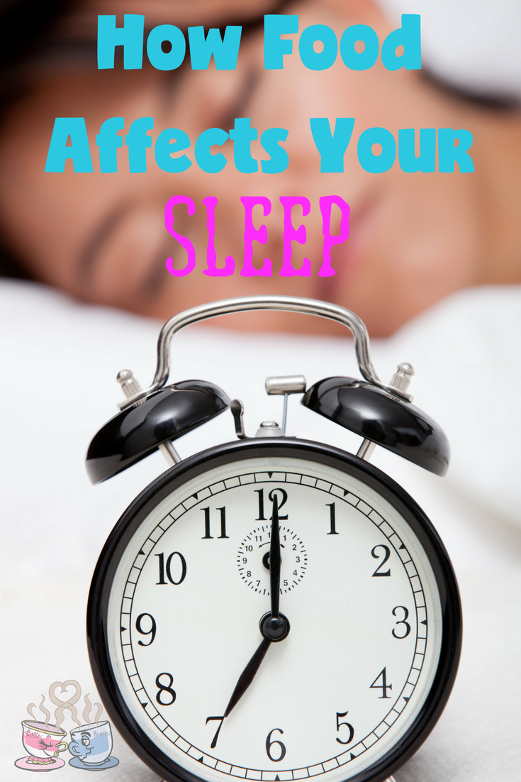 Learn How the Food You Eat Affects Your Sleep and what alternatives work better for a peaceful and restful night sleep every single night!