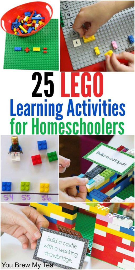 LEGO Building Games for Homeschool Classrooms