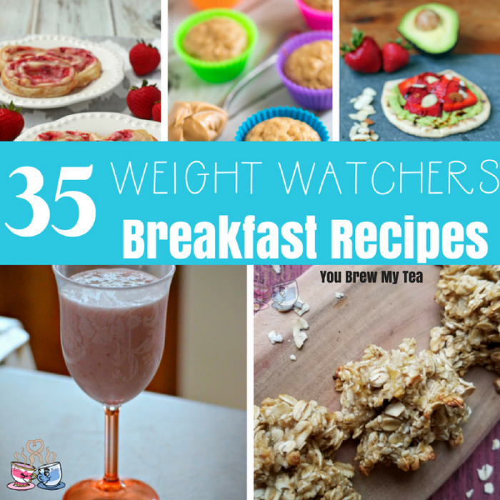 Don't miss these 35+ Weight Watchers Breakfast Recipes with SmartPoints calculations! They are just what you need to make breakfast easy!