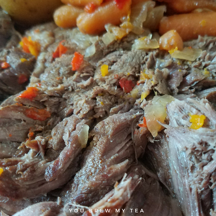 Instant Pot Beef Roast is a great choice for a comfort food meal your family will love! Make our Easy Pot Roast recipe Great for Weight Watchers with only 7 SmartPoints per serving!