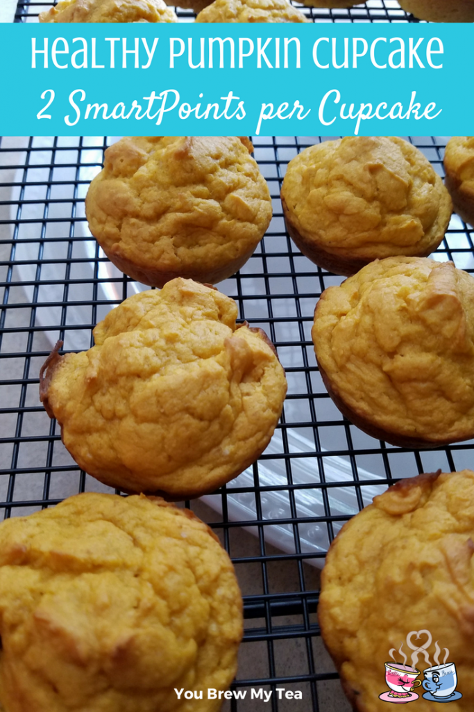 Make our Healthy Pumpkin Cupcake recipe for only 2 SmartPoints per cupcake! These are a great healthy Weight Watchers dessert option everyone loves!