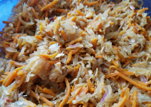 Instant Pot Eggroll in a Bowl is a delicious meal or side dish that everyone will enjoy. Ready in minutes, it's a great healthy instant pot recipe or instant pot side dish the whole family will enjoy!