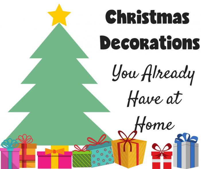 Christmas Decorations you Probably Already have in your House
