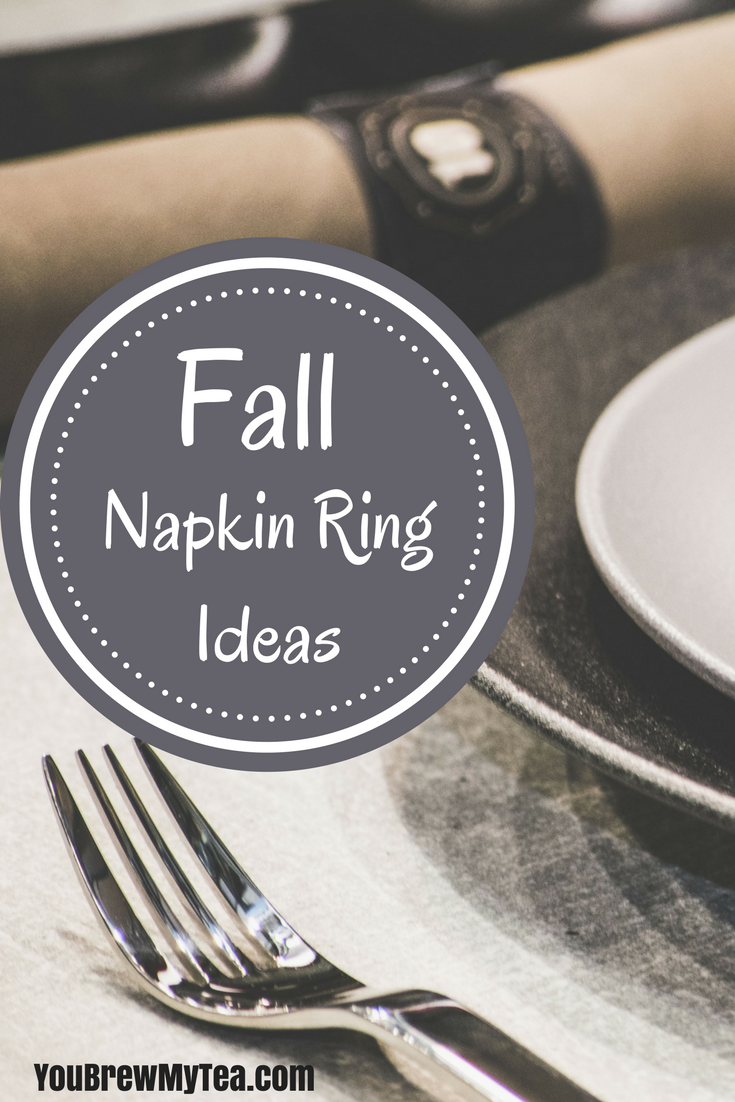 Check out our easy Fall Decor Ideas for unique and creative napkin rings!  These are perfect napkin ring ideas that fall into Thanksgiving decoration ideas or even Halloween decoration ideas you'll love!