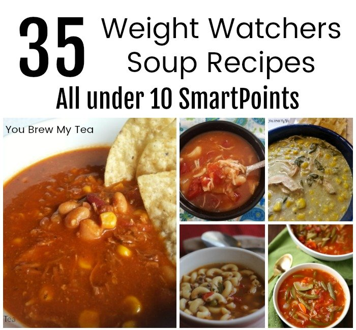 Check out our favorite Weight Watchers Soup Recipes!  These are ideal for soup weather!  Great lunches, or even hearty stews and chili to satisfy any hunger! These recipes include Smartpoints and are perfect for Weight Watchers lunches!