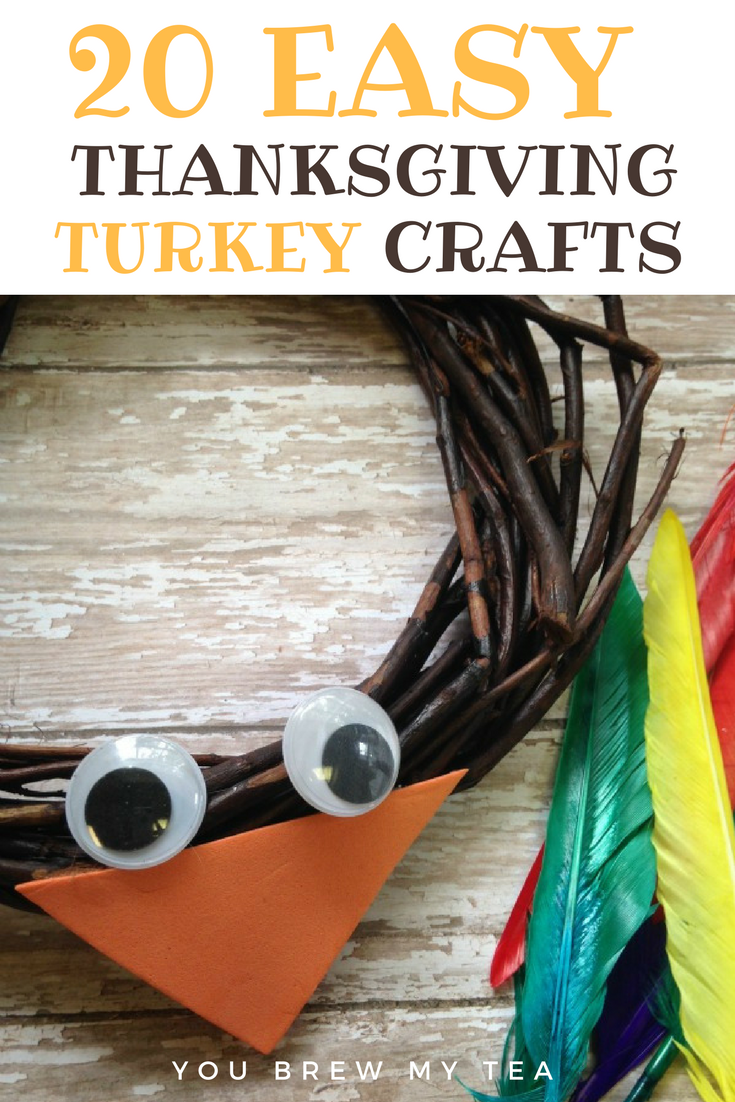 Don't miss out on our favorite Turkey Crafts for Kids! This list of fun Thanksgiving craft ideas is a great way to get kids excited about the upcoming holiday!