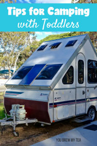 Camping with Toddlers is a great way to connect and teach your children more about nature. These tips make going camping even easier with the whole family!