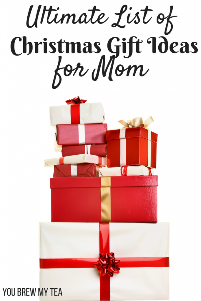 The Ultimate List of Christmas Gift Ideas for Mom is here to make your holiday shopping easier than ever! Check out our top picks to make Mom happy!