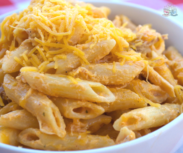 Buffalo Chicken Pasta is always a delicious comfort food! Check out our healthier option that comes in at only 7 SmartPoints per serving!