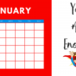 Free Printable Calendar Empowering Quotes for Girl Power