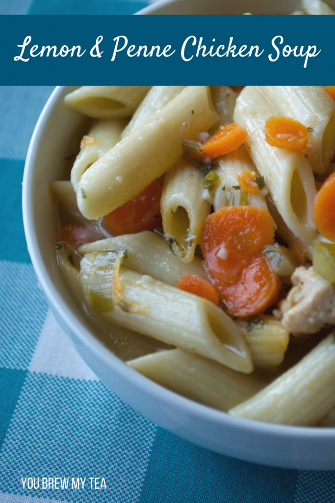 This Lemon Chicken Noodle Soup from Scratch recipe is a great spin on a classic! Tons of delicious flavor that is ready in under half an hour! This is a great Weight Watchers FreeStyle Recipe that is full of flavor and family friendly!