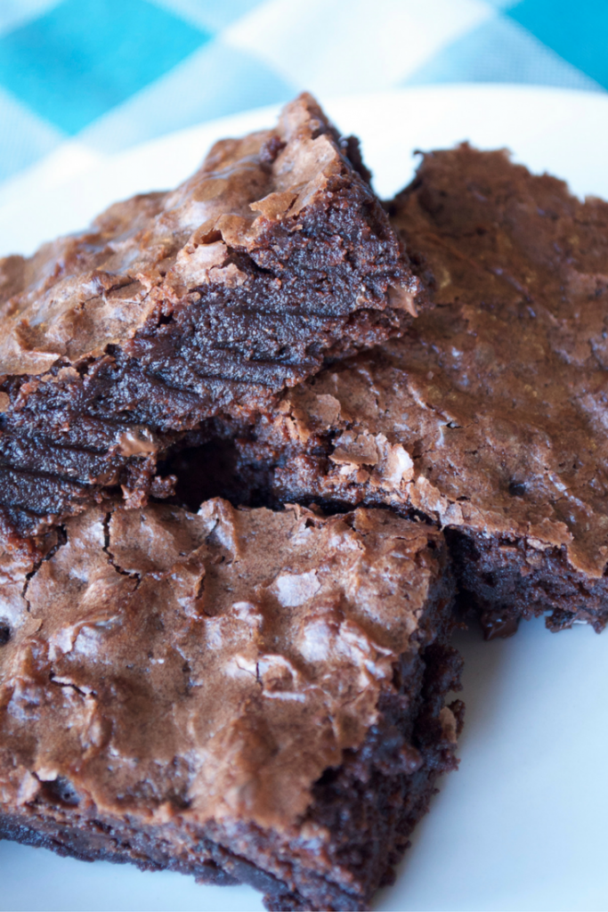 Vegan Black Bean Brownies are a great way to satisfy your latest chocolate craving. These are sweet, full of protein, and a great choice on Weight Watchers!