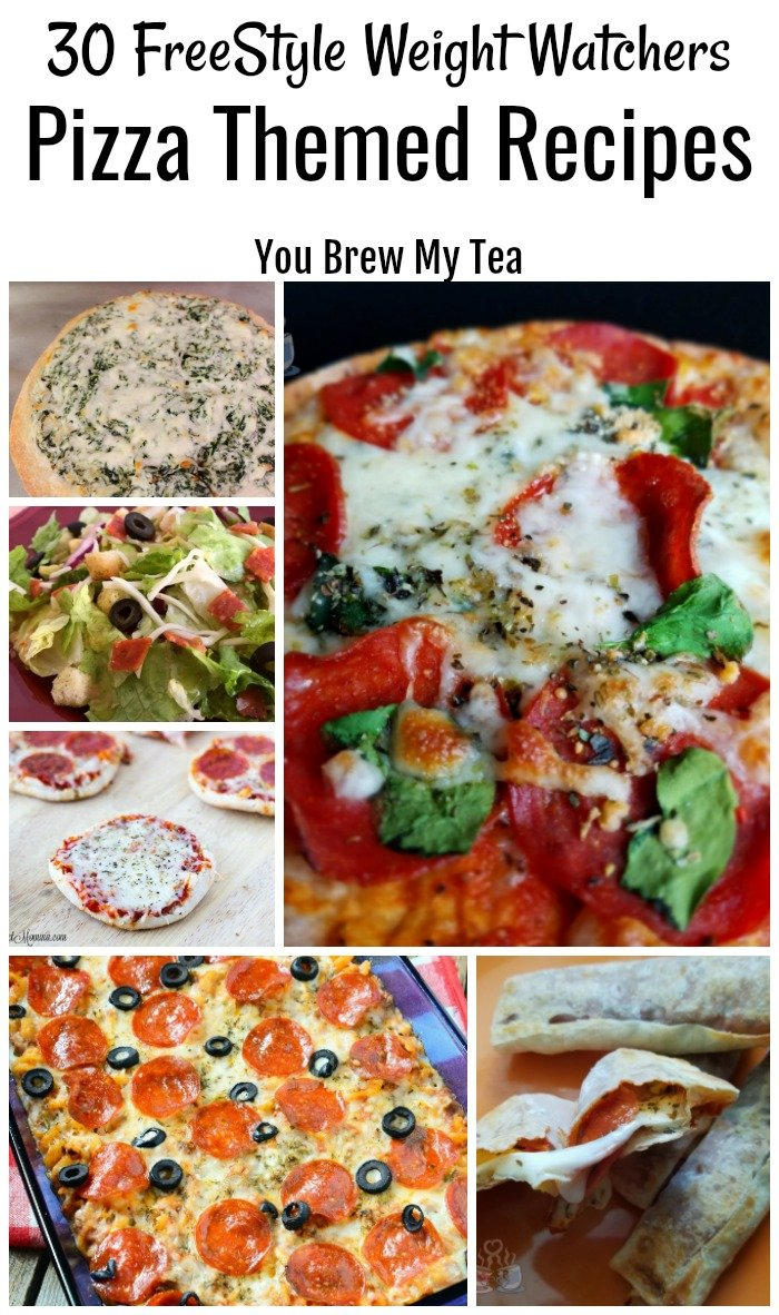 Weight Watchers FreeStyle Pizza Recipes are perfect for making for dinner this week! These great pizza themed recipes are kid-friendly Weight Watchers dinners you'll love!