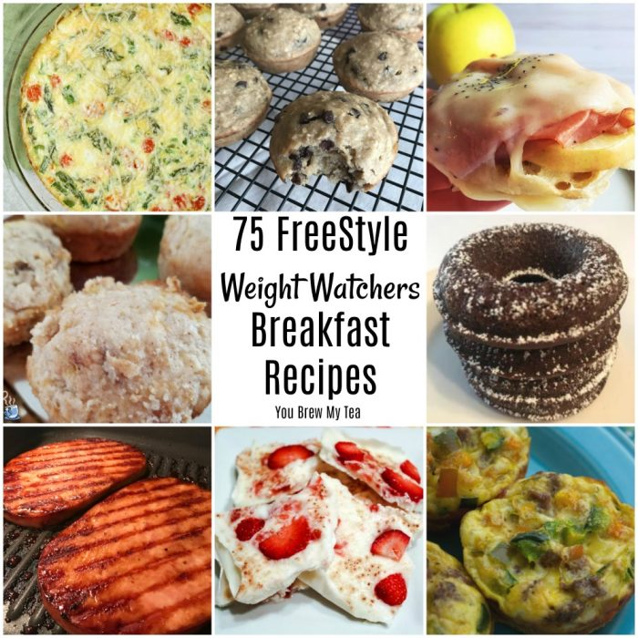 Weight Watchers FreeStyle Recipes are a huge hit and this list of breakfast recipes that are ideal for the Weight Watchers program will have you and your family happy to sit down for breakfast!