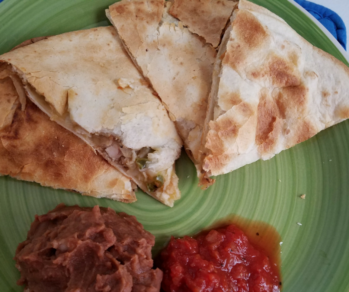 Weight Watchers Chicken Quesadillas Recipe