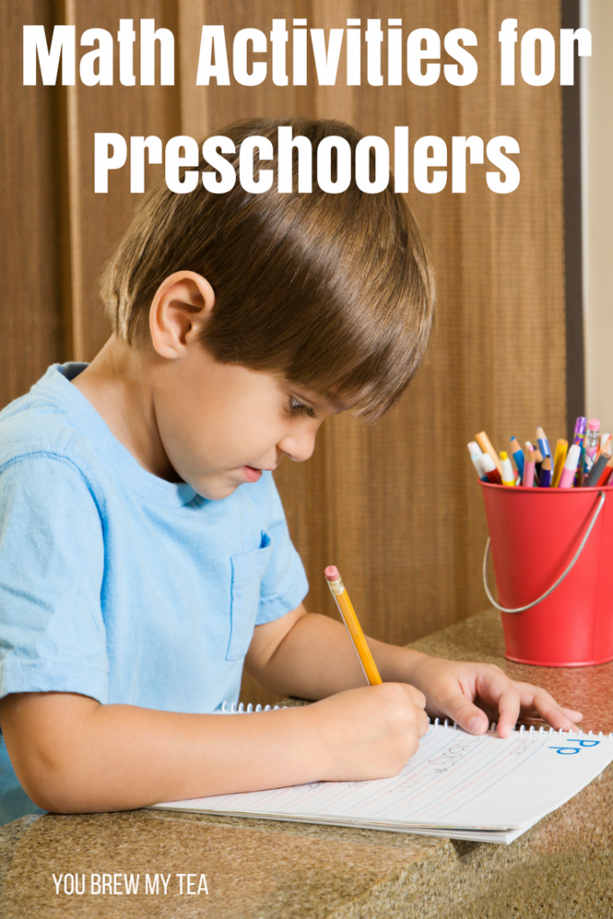 Great Preschool Homeschool tips for Math Activities for Preschoolers!  Tons of great ideas to keep your child learning naturally!