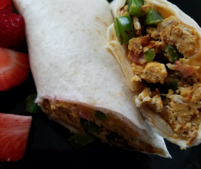 Weight Watchers Breakfast Burrito is a great easy to make recipe that everyone will love having on their menu!  It is ready in 10 minutes or less, and is a great freezer meal! A great Weight Watchers FreeStyle Recipe for breakfast!