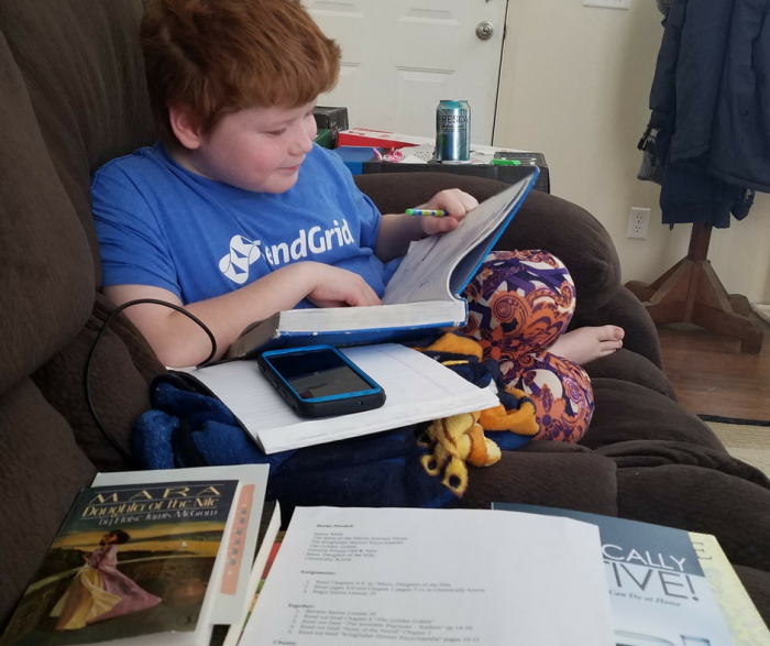 Secular homeschool curriculum is easy to find when you use BookShark as an all in one choice that will easily suit your child's needs! Perfect for the reader in your home!