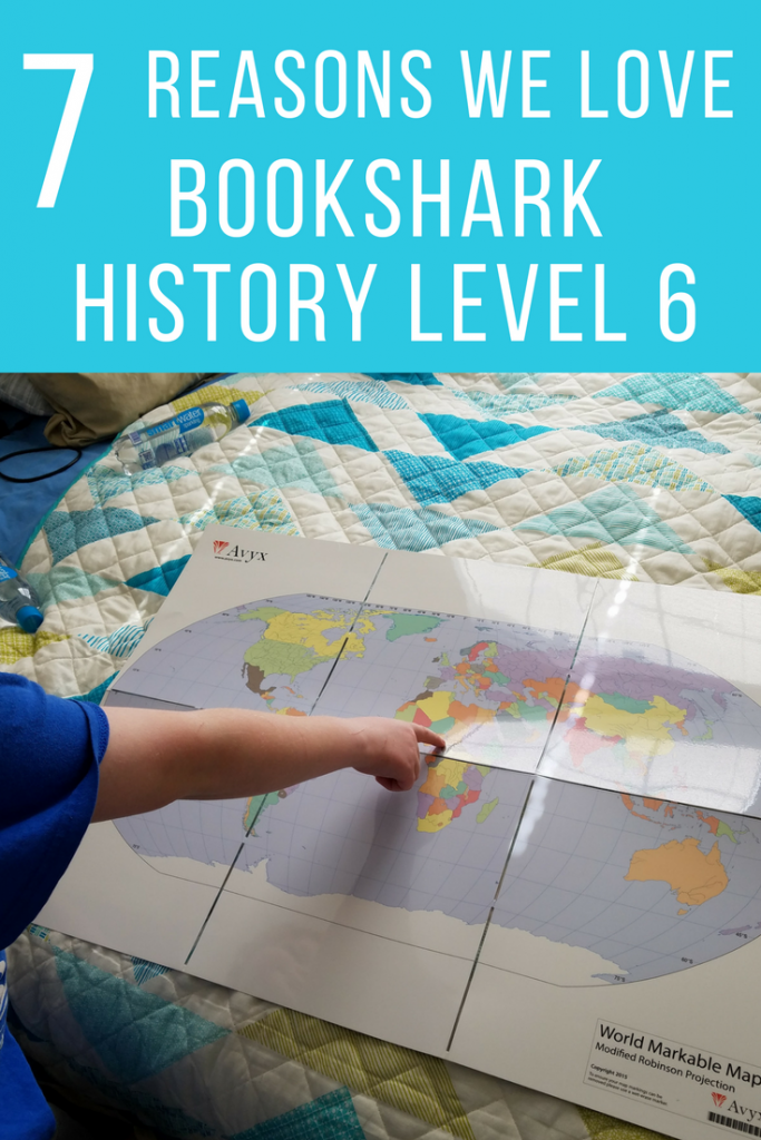 Secular Homeschool Curriculum is easier than ever using BookShark History Level 6 for our 6th grader this year! A great all in one curriculum option you'll love to use with your natural readers!