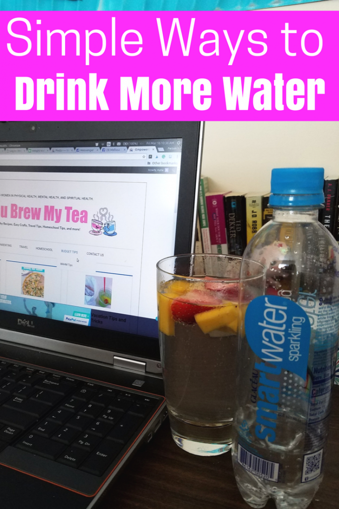 Simple ways to drink more water in your daily routine. This list is a perfect place to begin when working toward better health and getting more water in your diet!