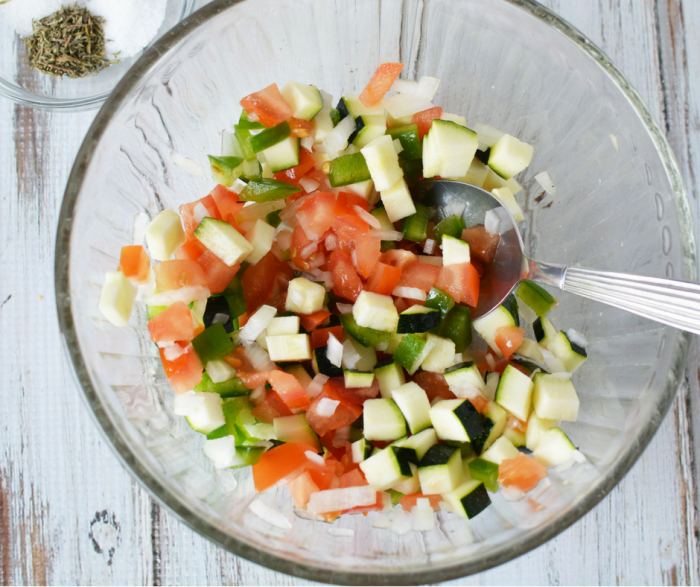 Make our Healthy Veggie Relish as a great addition to Upgrade Your Summer Barbecues alongside great grilled brats, chicken, or fish this year! Prep in minutes and let marinate overnight for best results!
