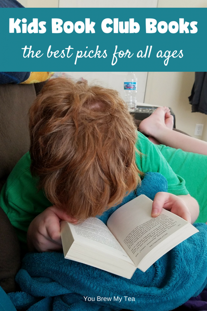Check out our picks for the Best Kids Book Club Books for all ages! These are ideal for everyone from infant to teen!