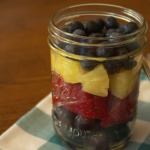 Easy Fruit Salad in a Mason Jar