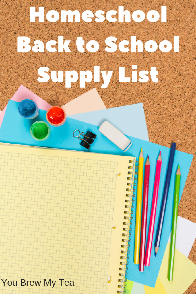 Don't miss out on our top Homeschool Back to School Supplies List! You'll grab everything needed using this list to create the best homeschool year ever!