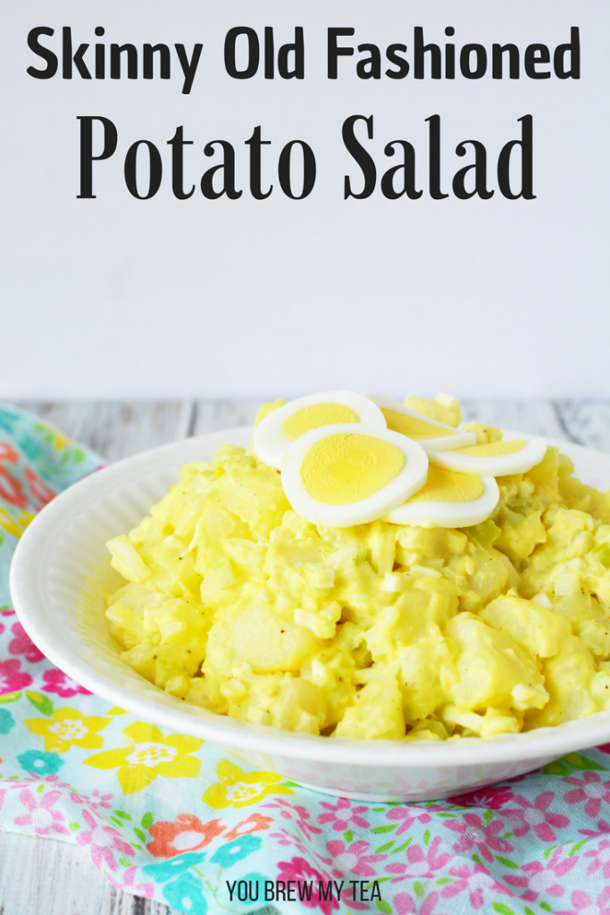 Our Old Fashioned Potato Salad recipe is sure to remind you of the classic recipe your grandma made, but with fewer calories! It's a delicious option to be a side dish at your next weekend barbecue!