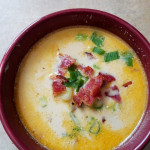 Our Easy Potato Soup Recipe is a delicious low point WW FreeStyle recipe that everyone will love! Only 6 SmartPoints per serving make this a perfect comfort food meal that everyone will rave over time and again!
