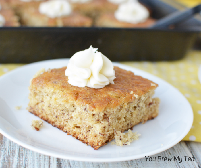 Make our Healthy Banana Cake Recipe in minutes! This delicious WW FreeStyle Recipe is a perfect Weight Watchers dessert that everyone will love. Homemade cake recipes are a hit with our family, especially with this simple option ready in a half hour!