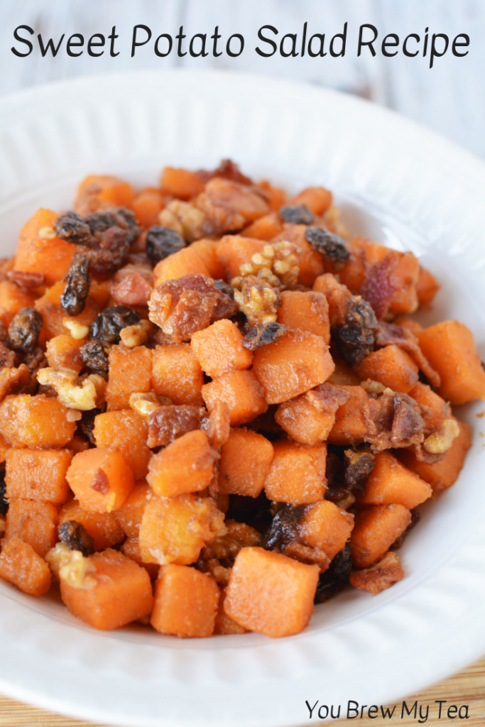 Our Sweet Potato Salad Recipe is a delicious and easy side dish that is perfect for the WW FreeStyle meal plan! Simple, sweet, savory and delicious! Make this easy WW FreeStyle Recipe in minutes to serve as the best sweet potato side dish your family has ever had!