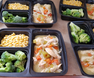 Looking for Freezer Friendly Chicken Recipes? Check out this easy Instant Pot Chicken and Dumplings Recipe! It's only 3 WW FreeStyle SmartPoints per serving and ready in under 30 minutes!