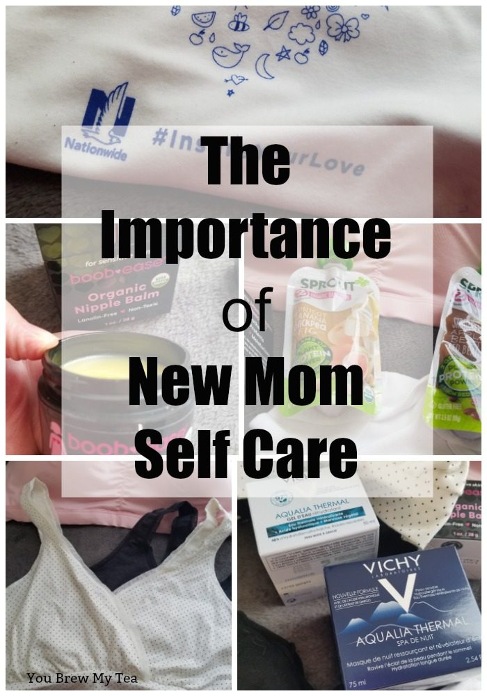 Don't miss out on our great tips for New Mom Self-Care! This post details all of the reasons why moms should take care of themselves while also showcasing some of our favorite items featured in the January 2019 BabbleBoxx just for new moms! #Ad #VichyLover #VichyUSA #AqualiaThermal #playtexmaternity #playtexnursing #playtexmom
