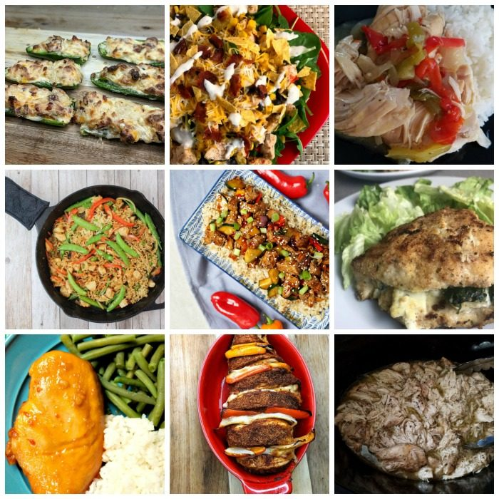 35 Dinners You Can Make With A Pound Of Chicken: 25 Weight Watchers Chicken Recipes