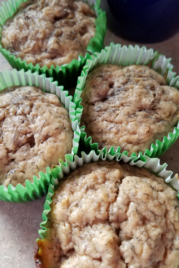Making these peanut butter banana muffins is going to make breakfast easier for you to manage than ever! Only 2 SmartPoints per muffin means these fit into your daily points with ease!