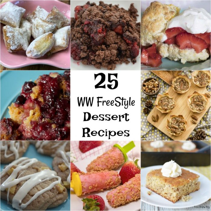 WW FreeStyle Desserts are amazing to keep you on track. This list is full of delicious options for only 2 SP to 6 SP each! Check out this list of great dessert ideas for Weight Watchers and healthy diets!