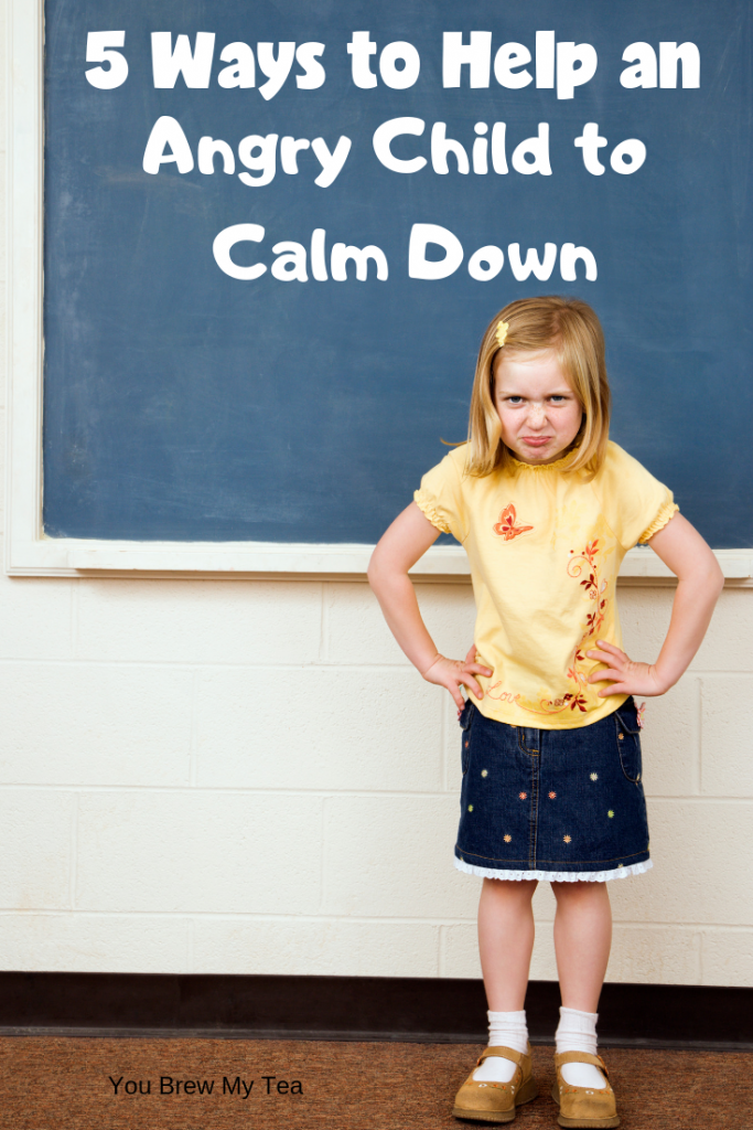 You won't want to miss these great parenting tips for helping to calm down an angry child. These 5 tips are perfect for helping your kids learn emotional control and how to relax and let go of stress.