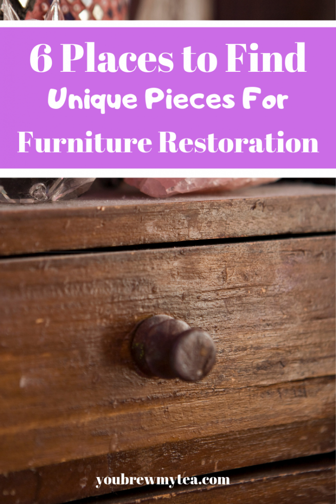 Furniture Restoration is a great way to make money! Check out this list of places to find inexpensive pieces for your own furniture restoration projects!