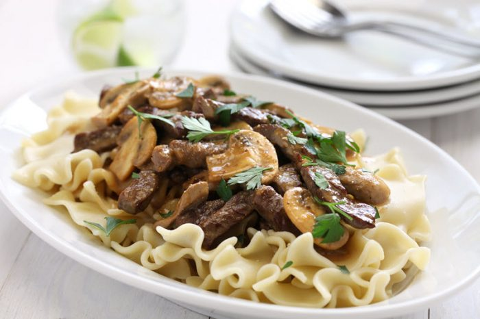 Weight Watchers Beef Stroganoff