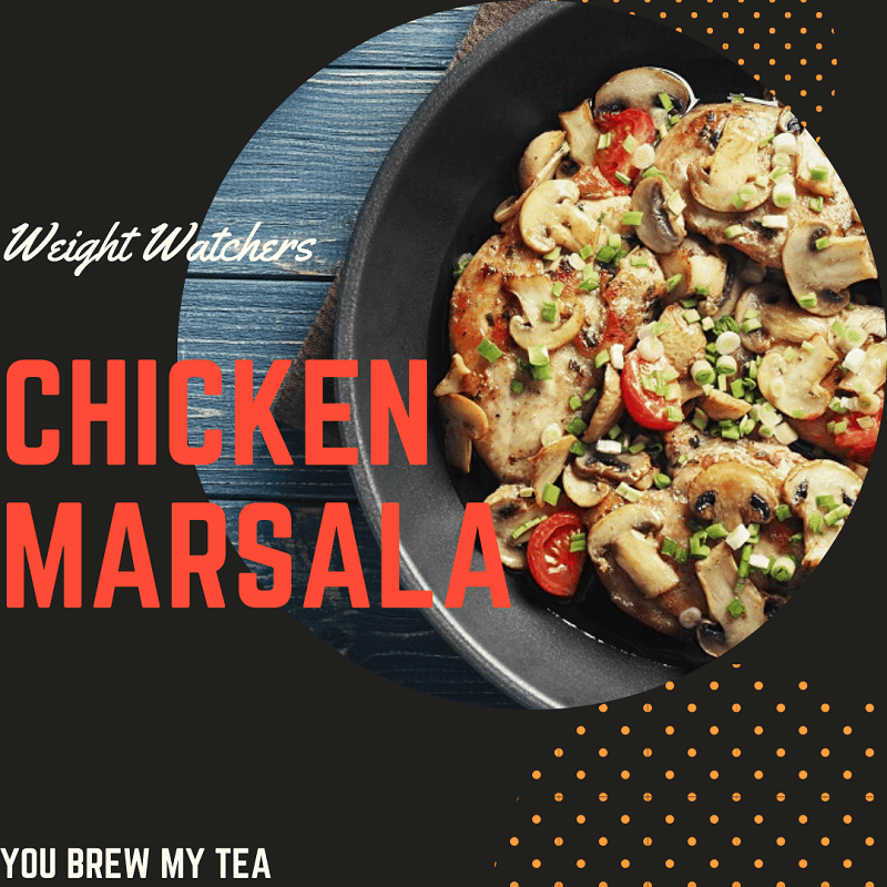 Weight Watchers chicken marsala