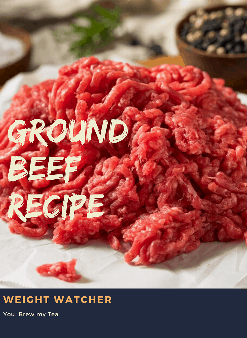 weight watcher ground beef recipe