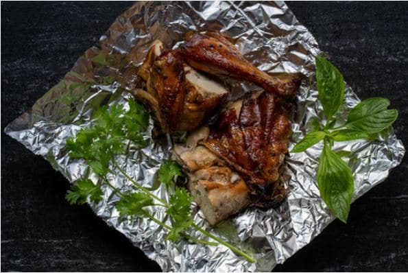 Foil Pack Barbecue Chicken